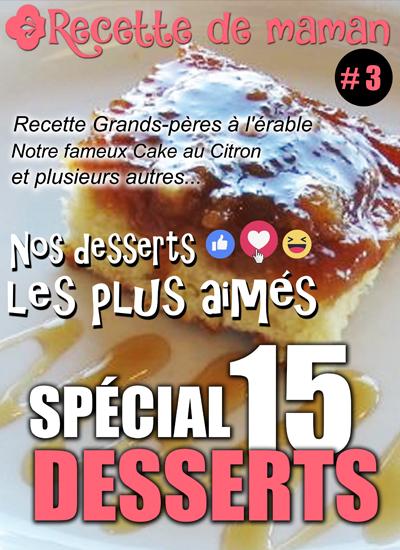 Tome 3 : Spécial Desserts
